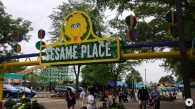 Sesame Place Entrance