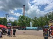 Six Flags Fountain Ferris Wheel View